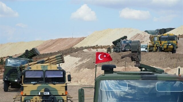 The Turkish Armed Forces encircled Syria's Afrin from the south, which is under the occupation of the Kurdistan Workers' Party (PKK)-affiliated Democratic Union Party (PYD) terrorist organization.