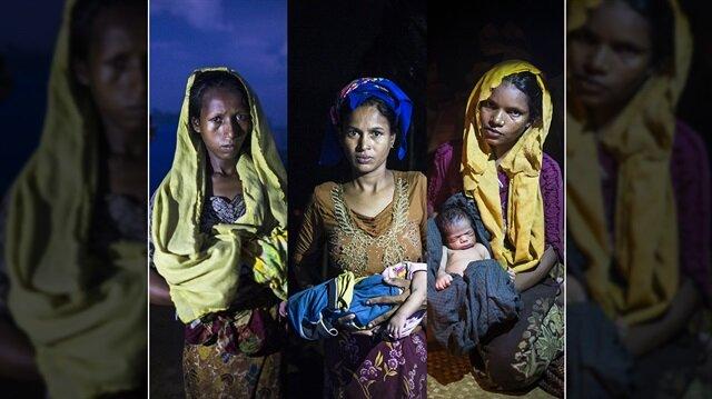 Arakan'daki zulüm kadınları ve çocukları vuruyor