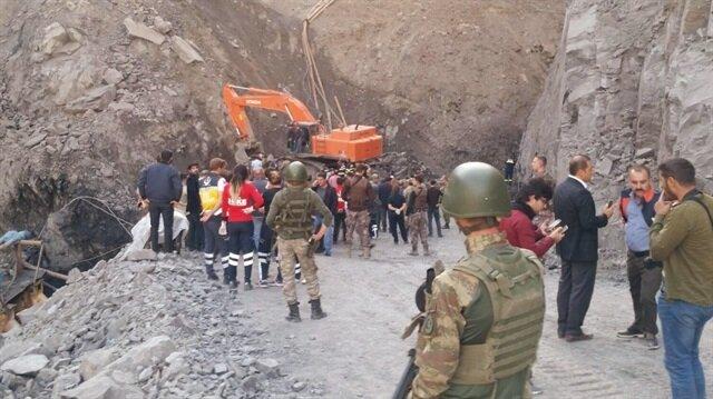 Şırnak'ta madende göçük: 7 işçi hayatını kaybetti