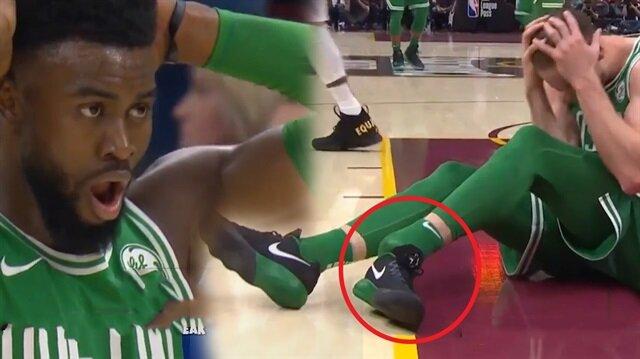 NBA'de herkesi şoke eden görüntü!