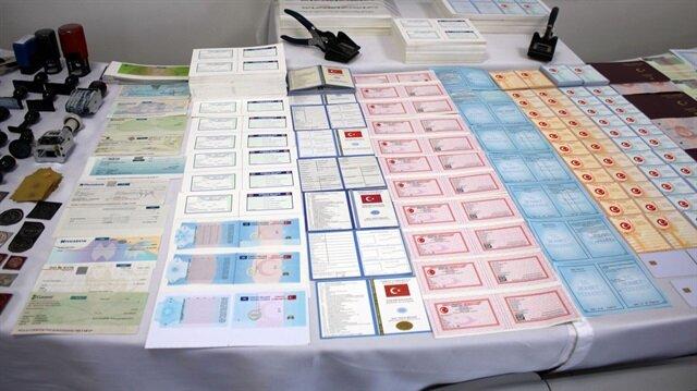 İstanbul'da sahte çipli kimlik kartı operasyonu