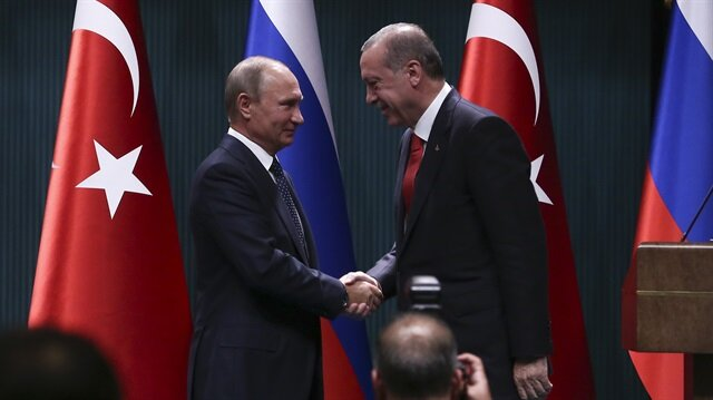 Erdoğan - Putin joint press conference in Ankara