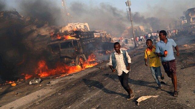 Somali'nin Aşağı Şabelle vilayetindeki patlama