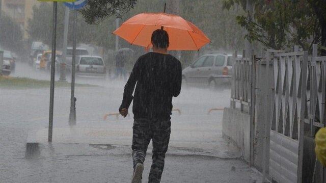 İstanbul ve 12 ile sağanak yağış uyarısı