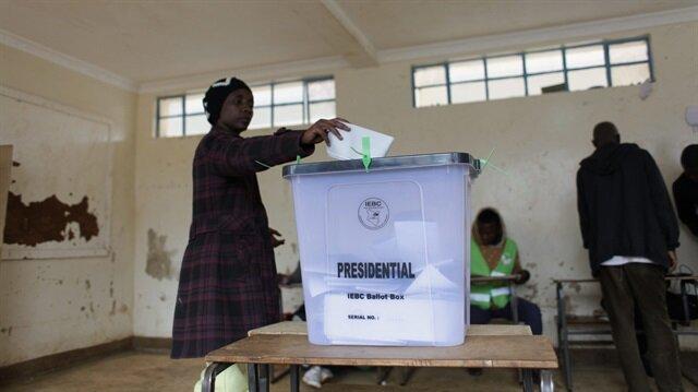 Kenya'da seçim tekrarlanıyor