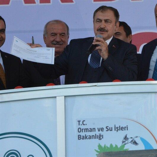Bakan Eroğlu: Türkiye'yi kimse tutamaz