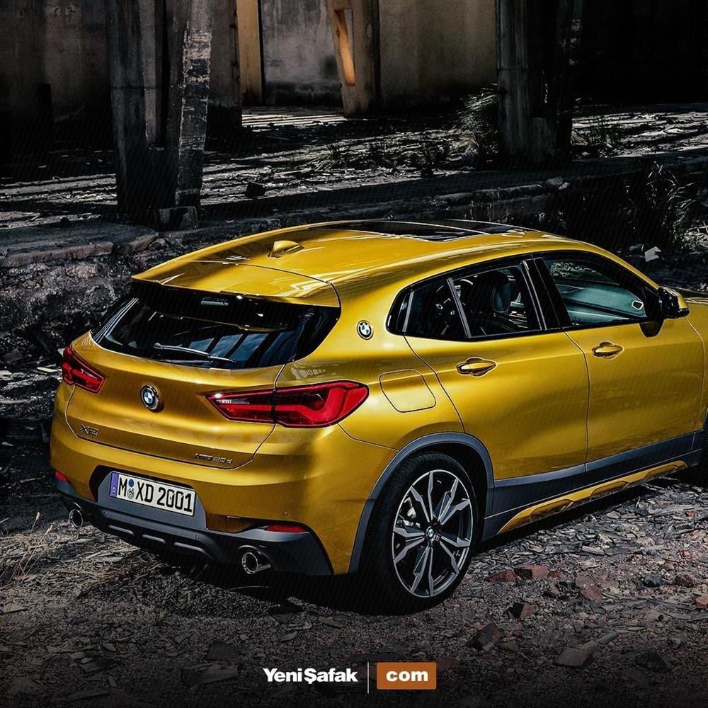 Bmw X2 Sport: 2018 Model Yeni BMW X2 Tanıtıldı! İşte Yeni BMW X2'nin