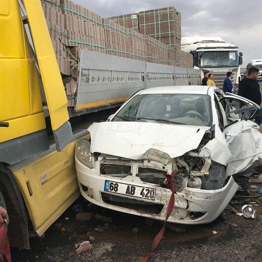 Aksaray-Konya yolunda zincirleme kaza: Ölü ve yaralılar var