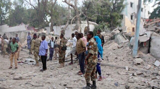 Somali'nin başkenti Mogadişu'da iki kez patlama meydana geldi.
