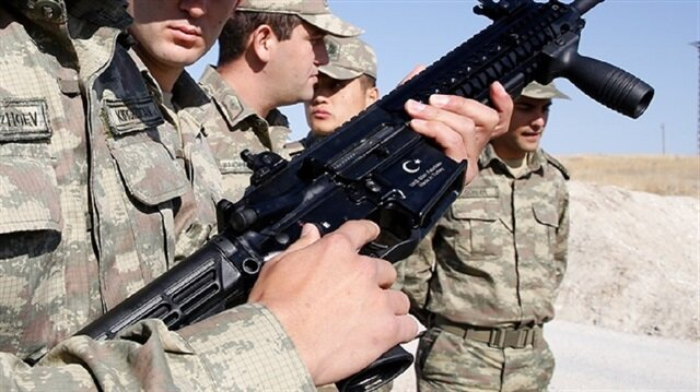 About 55,000 Turkish-made rifles will be delivered to the military in two years.
