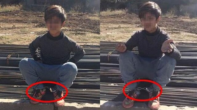 Eskişehir'de akılalmaz 'ceza': Öz amca yeğenini zincirle bağladı