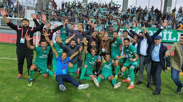Kars 36 Spor, TFF 1. Lig takımı Altınordu'yu yenerek 5. Tura yükselme başarısı göstermişti.