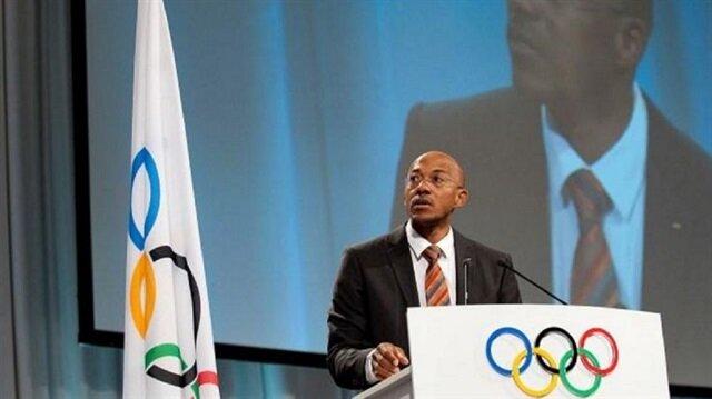 Namibian Olympic medallist Frankie Fredericks