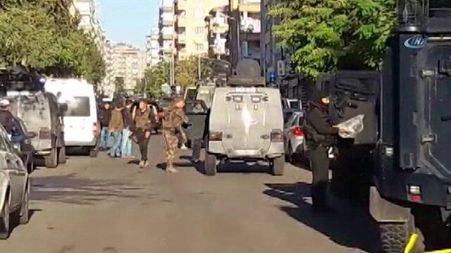 Security forces, PKK terrorists clash in Turkey's Diyarbakır