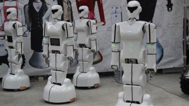 Türkiye'nin ilk insansı robot fabrikası Konya'da açıldı.