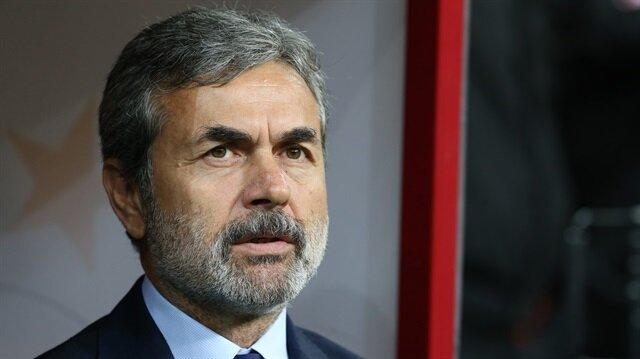 Fenerbahçe Teknik Direktörü Aykut Kocaman.
