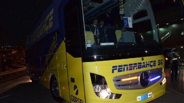 Fenerbahçe takım otobüsünde Aykut Kocaman yer almadı.
