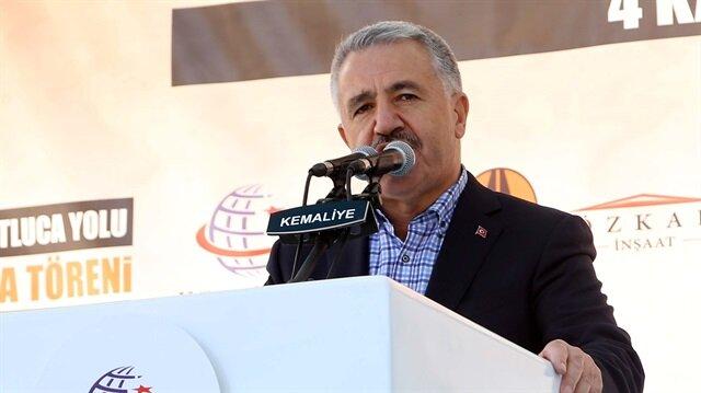 Turkey's Minister of Transport, Maritime Affairs and Communicatio Ahmet Arslan