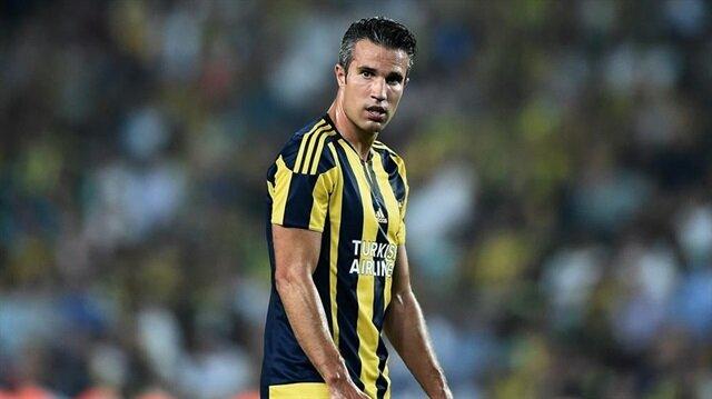 Robin van Persie, Fenerbahçe formasıyla  bu sezon 2 Süper Lig maçına çıktı.