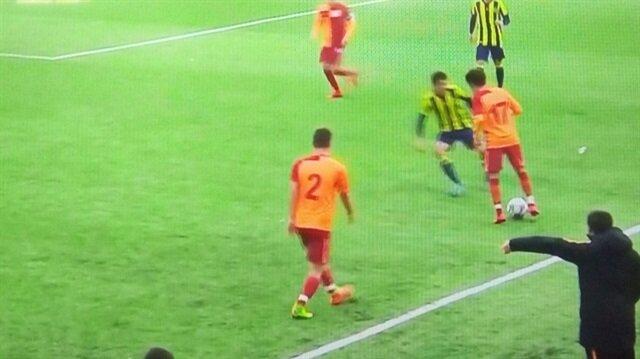 Galatasaray, Mustafa Kapı'nın golleriyle 2-0 galip geldi.