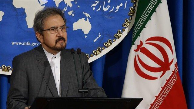 İran Dışişleri Bakanlığı sözcüsü Behram Kasımi.