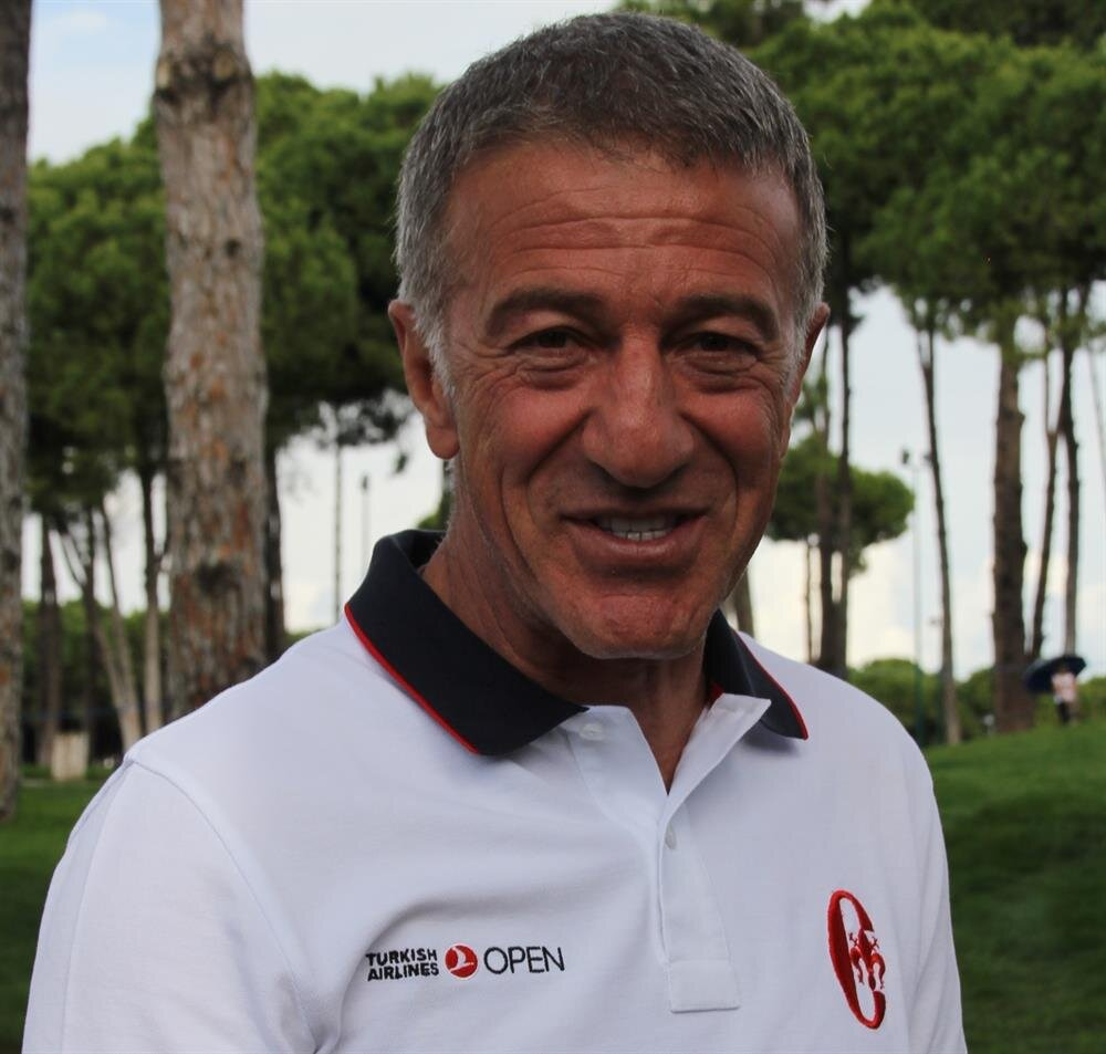 Turkish Golf Federation President Ahmet Ağaoğlu