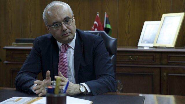 Türkiye'nin Trablus Büyükelçisi Ahmet Aydın Doğan