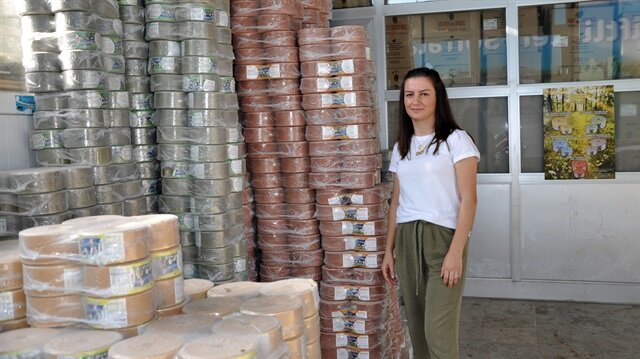 Genç girişimci KOSGEB'den 50 bin TL alarak mineral blok üretimine başladı.