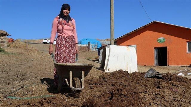 Bingöl'de 4 çocuk annesi ev hanımı bileziklerini satarak başladığı besicilikte örnek üretici oldu.