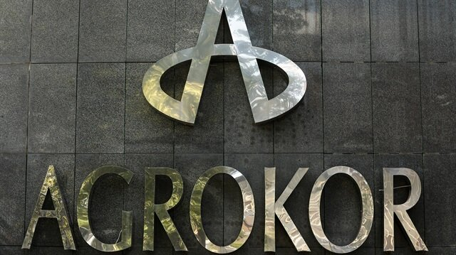 The logo of Croatian food group Agrokor