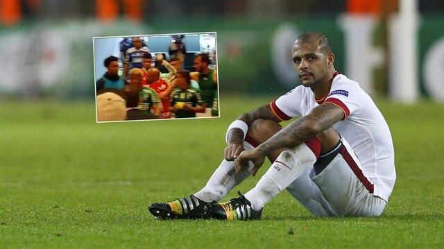 Melo agresif yapısıyla Süper Lig'de de adından söz ettirmişti.