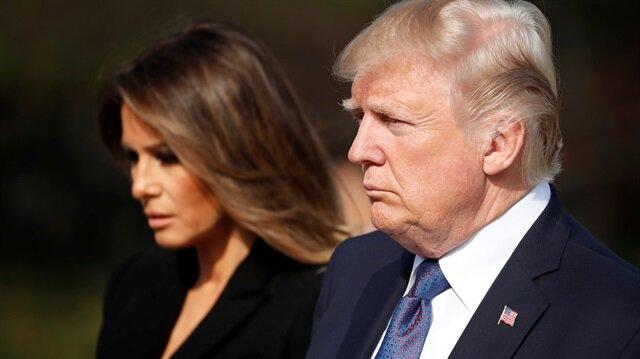 ABD Başkanı Donald Trump ve eşi Melania Trump