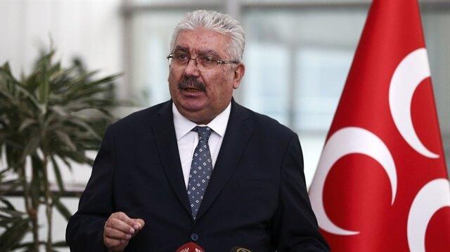 MHP Genel Başkan Yardımcısı Semih Yalçın