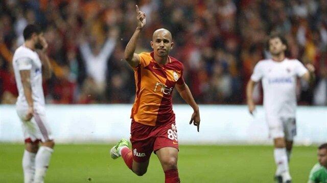 Feghouli Galatasaray formasıyla 2 gol kaydetti.