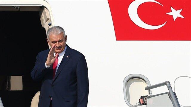 Başbakan Binali Yıldırım New York'a hareket etti.