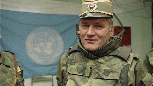 Soykırım ve savaş suçu zanlısı eski Sırp komutan Ratko Mladic.