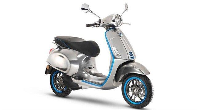 Vespa'nın ilk elektrikli scooterı Elettrica.
