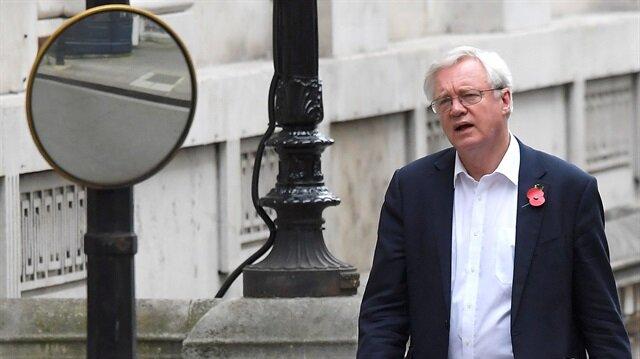 Brexit'ten sorumlu bakan David Davis