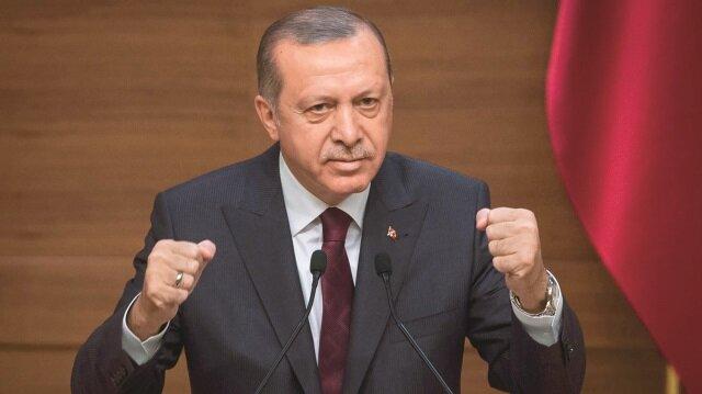 Cumhurbaşkanı Tayyip Erdoğan, terör örgütlerinin, kendilerini kullananlar tarafından raf ömürlerini tamamlayınca çöpe atıldığını belirtti.