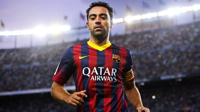 Former Barcelona and Spain football player Xavi Hernandez