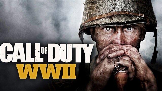 Call of Duty:WWII tanıtım görseli.