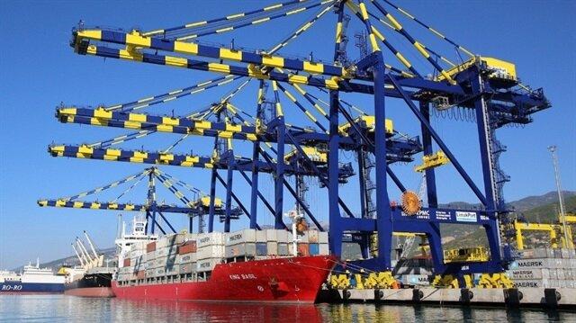 Türkiye'deki limanlardan 430 milyon ton yük elleçlendi.