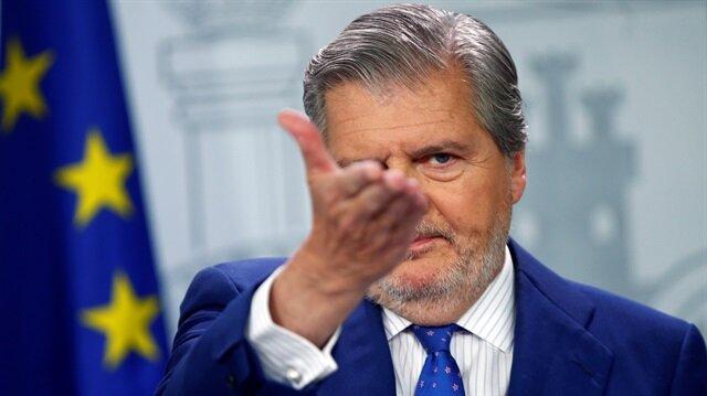 İspanya Hükümet Sözcüsü İnigo Mendez de Vigo