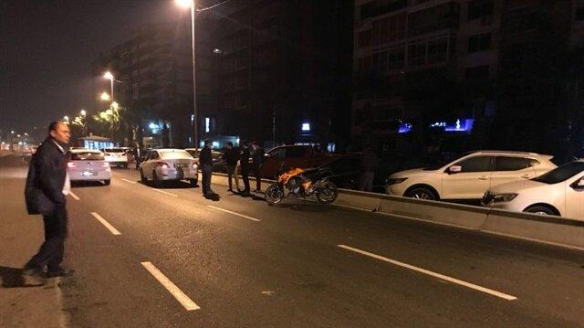 İzmir'de trafik kazasında 1 kişi öldü.