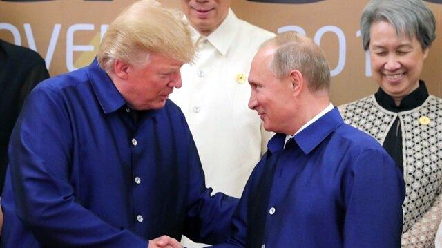 ABD Başkanı Donald Trump ve Rusya Devlet Başkanı Putin