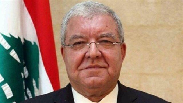 Lübnan İçişleri Bakanı Nihad El-Mashnouq