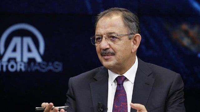 Bakan Özhaseki, elektronik tebligatta ilişkin açıklamalarda bulundu.