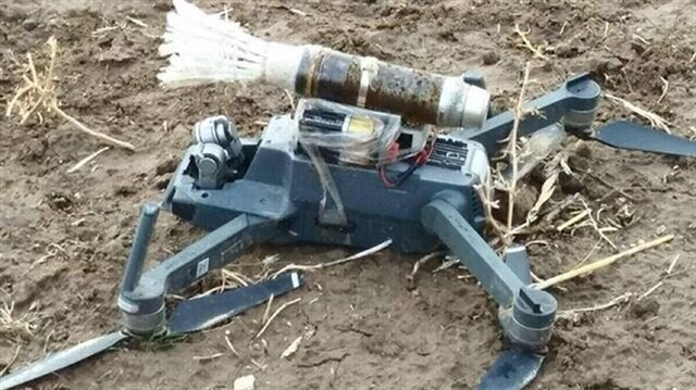 ​Turkish army shoots down bomb-laden PKK drone