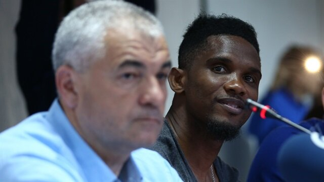 Rıza Çalımbay, Antalyaspor'dan futbolcusu olan Samuel Eto'o hakkında konuştu.