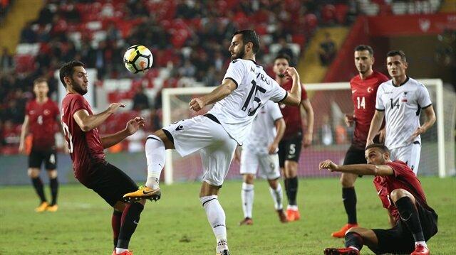 Türkiye - Arnavutluk maç özeti